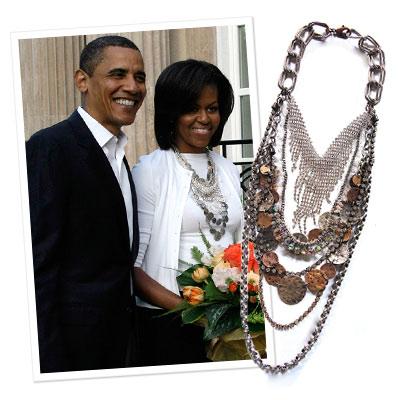 Michele Obama tem vários modelos diferentes dele